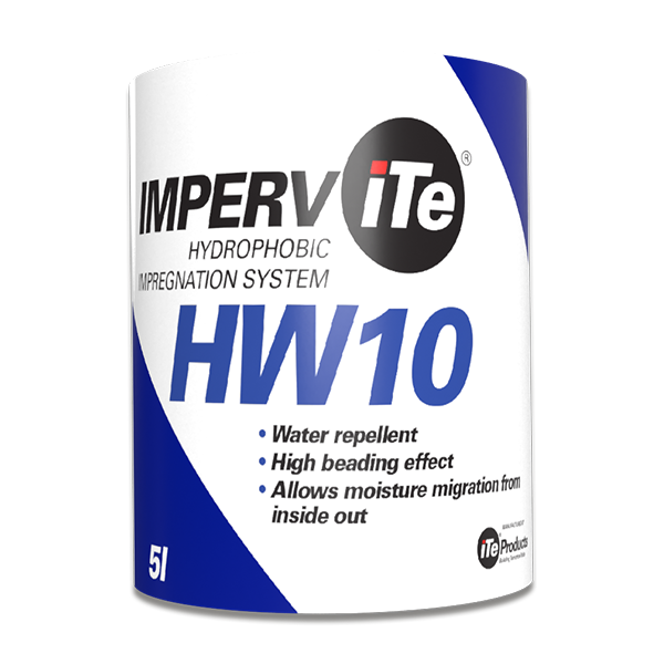 IMPERViTe HW10 – Cement / Natural Stone Hydrophobic Impregnation System, 5 Litre