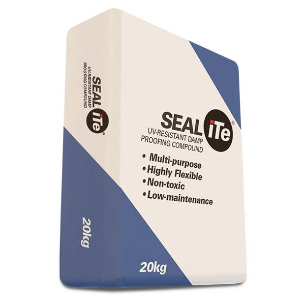 SEALiTe – UV-Resistant Water / Damp Proofing Compound, 20kg