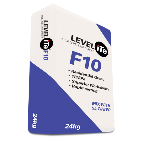 LEVELiTe F10 – Self Levelling Screed Compound