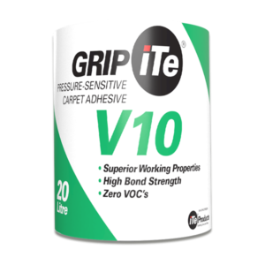 GRIPiTe V10 - Pressure-sensitive carpet adhesive, 20 Litre