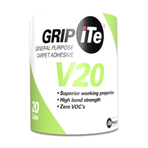 GRIPiTE V20 – A general-purpose carpet adhesive, 20 Litre