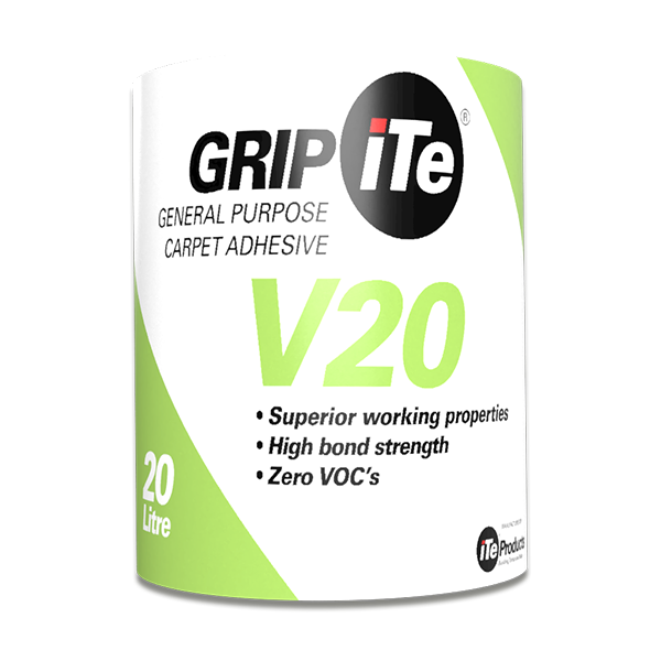 GRIPiTE V20 – A general-purpose carpet adhesive, 20 Litre